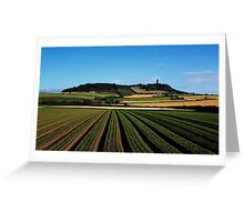 Scrabo In View Greeting Card