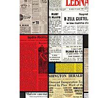 Mondrians News Photographic Print