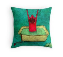 turquidpower Throw Pillow
