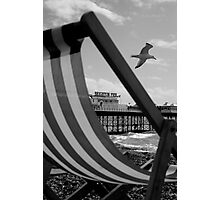Brighton Arm Chair Photographic Print