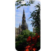 The Scott Monument iPhone Case/Skin