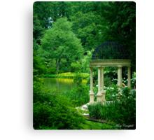 The Reflecting Garden © Canvas Print