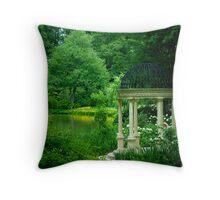 The Reflecting Garden © Throw Pillow