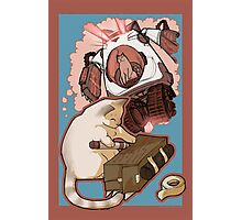 Puddin' Builds A Catbot Photographic Print