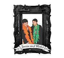 Jensen and Misha Photographic Print