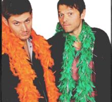 Jensen and Misha Sticker