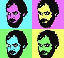 Kubrick - Warhol Style by localhoststudio