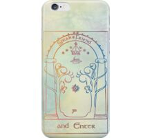 speak friend and enter iPhone Case/Skin