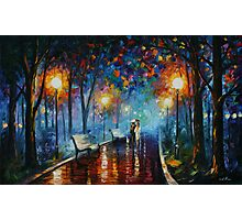 MISTY MOOD limited edition giclee of L.AFREMOV painting Photographic Print
