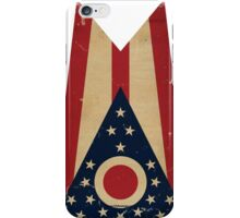 Ohio State Flag VINTAGE iPhone Case/Skin