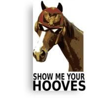 Captain Falcon Horse Canvas Print