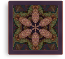The Pinecone Shawl Canvas Print
