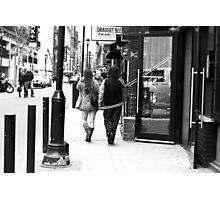 The streets of Philadelphia Photographic Print