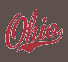 Ohio Script Red by USAswagg2