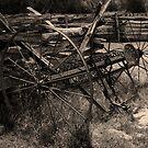 Hay Rake     by Gary L   Suddath