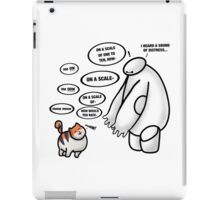I HEARD A SOUND OF DISTRESS iPad Case/Skin