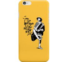 Weird and Rare - Fear Loathing Vegas iPhone Case/Skin