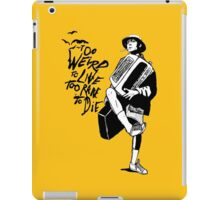 Weird and Rare - Fear Loathing Vegas iPad Case/Skin