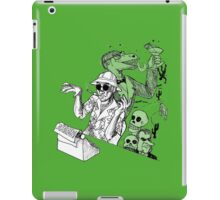 HS Thompson writing iPad Case/Skin