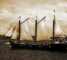 Tall Ship Silva by Scott Ruhs