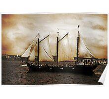 Tall Ship Silva Poster
