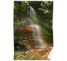 Federal Falls in the Blue Mountains Poster