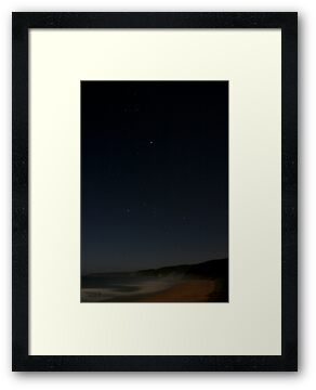 Johanna Beach - Orion Setting by Richard Heath