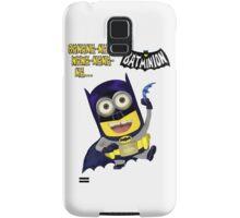 Banana-nana-nana-nana-na... BatMinion! Samsung Galaxy Case/Skin