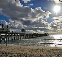 San Clemente Pier by Photobum