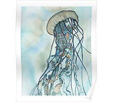 Jellyfish Three Poster
