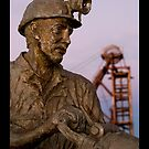 Miners Memorial by Mark Ingram Photography