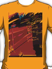 'Over-priced, Gentrified Urban Scrawl #2' T-Shirt