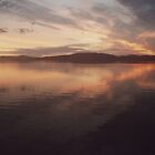 Sunset over Wallis Lake NSW by jensw61
