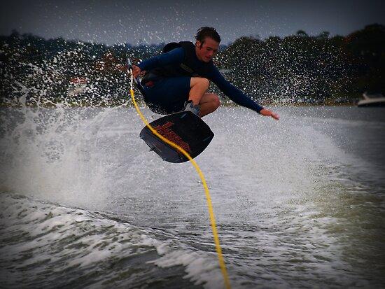 Jumping the wake by Wanagi Zable-Andrews