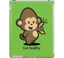 Farm Babies - Eat healthy. iPad Case/Skin