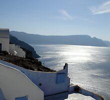 Santorini Sun by cchughes
