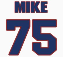 National football player Mike Rosenthal jersey 75 by imsport