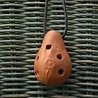Portuguese Terracotta Ocarina by Anna Lisa Yoder