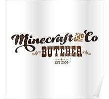 Minecraft & Co Butcher, Olde Poster