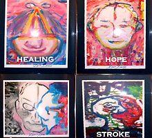 Dave davies ( kinks ) ART STROKE PAINTINGS  by blamo