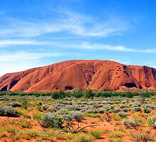 Ayres Rock / Uluru, Northern Territory, Australia by Peter Clements