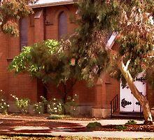 Adelaide Church Yard by Sadandal
