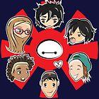 Big Hero 6 Group by JotunRunt