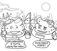 VITA E AVVENTURE DI PICCOLE MERDE - In campagna è tutta un'altra aria ! by CLAUDIO COSTA