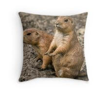 """""""I'm waiting for my manicure........."""" Throw Pillow"""