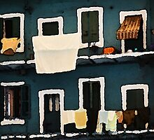 Casa di corte (impressionistic) by Alessia Ghisi Migliari