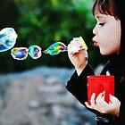 Rainbow Bubbles by Jinx