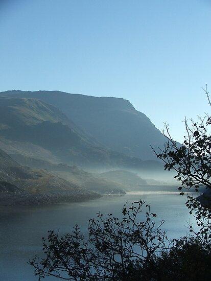 Llanberis Pass, Snowdonia by Dafs