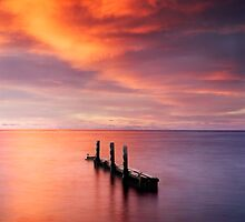 Old Jetty by Kirk  Hille