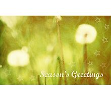 Season's Greetings - JUSTART ©  Photographic Print